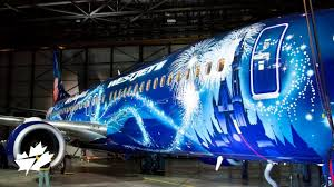 <b>Painting</b> the WestJet #MagicPlane livery - YouTube