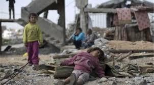 Image result for یمن با بمبهای خوشهای آمریکا