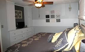 to create adequate storage and maximize floor space in the bedroom mcclurgs lead carpenter used adequate storage space