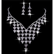 <b>Luxurious</b> Shining crystal <b>Wedding Bridal Jewelry</b> Set,Including ...