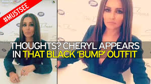 is cheryl pregnant star keeps mum over baby rumours but lover video loading