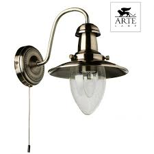 <b>Бра ARTE LAMP</b> FISHERMAN <b>A5518AP</b>-<b>1AB</b>