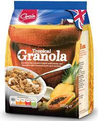 <b>Grain Гранола тропические фрукты</b>, 500 г — купить в интернет ...