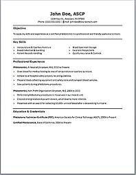 phlebotomy resume examples resume template info gallery of phlebotomy resume examples 2016
