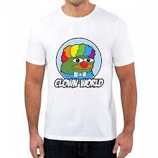 Clown World Pepe Meme Shirt <b>Fashion Printed</b> Tshirt <b>Men</b> And ...