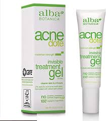 Alba Botanica <b>Acnedote Invisible</b> Treatment Gel, 0.5 Fluid Ounce ...