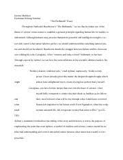 ampquotthe yellow wallpaperampquot fws essay  jeremy mulchan the pages fwsessayrevised version