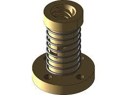<b>T8</b>*8(P4) <b>Anti</b>-<b>backlash</b> nut | 3D CAD Model Library | GrabCAD