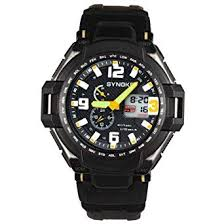 Siviki <b>SYNOKE</b> Men Waterproof Double Digital Quartz LED <b>Sports</b> ...
