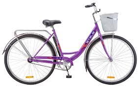 Городской <b>велосипед STELS Navigator 345</b> 28 Z010 с корзиной ...