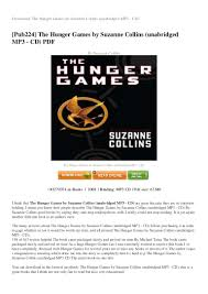 the hunger games essay topics