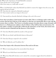 macbeth study questions pdf 11 how is water used as an image in this scene 12 how