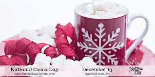 NATIONAL COCOA DAY - December 13 - National Day Calendar