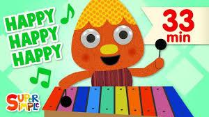 Super Simple Songs - Kids Songs - <b>My Happy</b> Song   + More Kids ...
