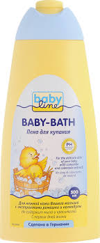 <b>Пена</b> для купания <b>BabyLine</b>, с ромашкой и календулой, 500 мл ...