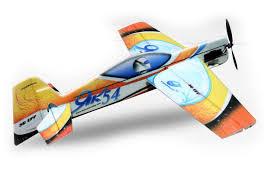 <b>Радиоуправляемый самолёт Techone</b> Yak54 EPP 3D 1100mm Kit ...