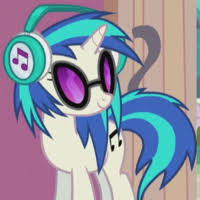 <b>DJ</b> Pon-3 | My Little Pony Friendship is Magic Wiki | Fandom