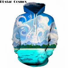 <b>PLstar Cosmos</b> Streetwear 2018 <b>New Fashion</b> Funny Cloud octopus ...