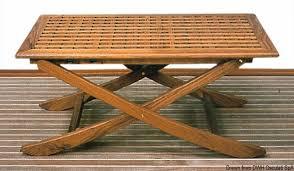 Tavolo In Teak Manutenzione : Tavolo in legno per barca o giardino pieghevole e regolabile