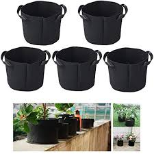 Large Round <b>Planting</b> Bags Non-Woven Fabric <b>Plant</b> Bag IWILCS ...