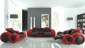 red and black living rooms futuristic black and red furniture in airy living room black and red furniture