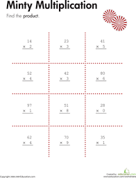 Double Digit Multiplication Worksheets & Free Printables ...Double Digit Multiplication Worksheets & Free Printables | Education.com