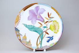<b>Декоративная тарелка</b> рис. Лиловый вечер (<b>27</b>,5 см)