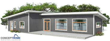 Small House CH to wide lot   affordable building budget  House    House Plan CH   cost to build less than       ch    house plan jpg