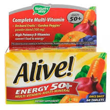 Nature's Way Senior <b>Multivitamin Alive</b>! <b>Energy 50</b>