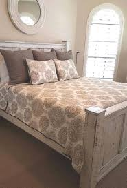 queen size bedroom set includes a queen size bedframe with rails and 2 side bedroom set light wood vera