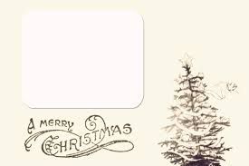 card christmas picture card template christmas picture card template medium size