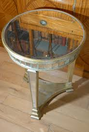 art deco mirrored side table tables mirror furniture art deco mirrored furniture