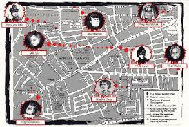 Image result for map of 1888 whitechapel in london