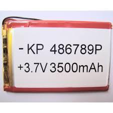 Buy online 3.7V <b>3500mAh Lithium Ion</b> Polymer <b>Battery</b> in India at ...