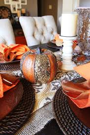 fall dining table centerpieces fall dining table decor inspiration