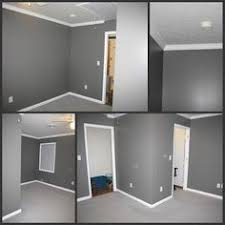 grey walls white trims grey carpet example of too dark i want bedroom gray walls