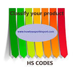 Hts code classification