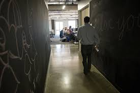 here are a few more ideas for both home and office chalkboard paint office