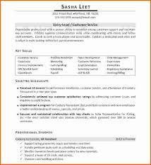 management resume skills executive resume template professionally written entry level resume example