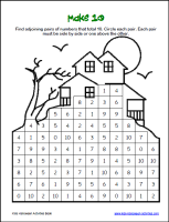 Halloween Worksheets | Halloween Games for Kids | Halloween Math ...Math Puzzle Sheets