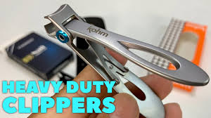 Testing Heavy Duty <b>Toenail Clippers</b>. Are they worth it? - YouTube