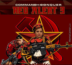 Red Alert 3 : Command And Conquer : Ukraine by creepysusie - Meme ... via Relatably.com