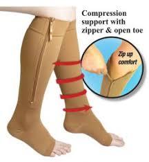 <b>Zippered Compression Socks</b>