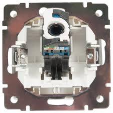 <b>Розетка</b> компьютерная накладная <b>Werkel RJ45</b>, цвет серебро в ...