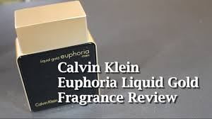 Euphoria <b>Liquid</b> Gold Men by <b>Calvin Klein</b> Fragrance / Cologne ...