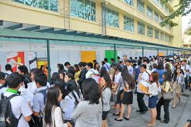 2014 far eastern university take job fairs seriously students told