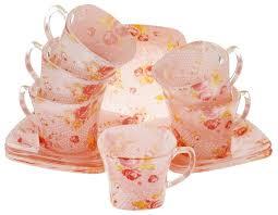 <b>Чайный</b> сервиз <b>Loraine</b> Розы 24128 <b>12</b> предметов 200 мл ...