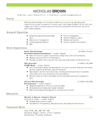resume templates excel pdf formats