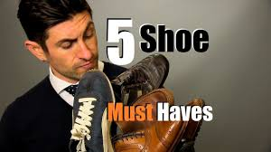 5 <b>Men's Shoe</b> Must Haves | <b>Shoes</b> Every Guy Should Own - YouTube