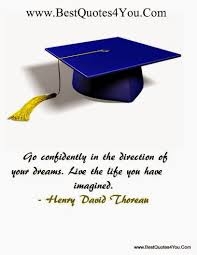 Inspirational Graduation Quotes. QuotesGram